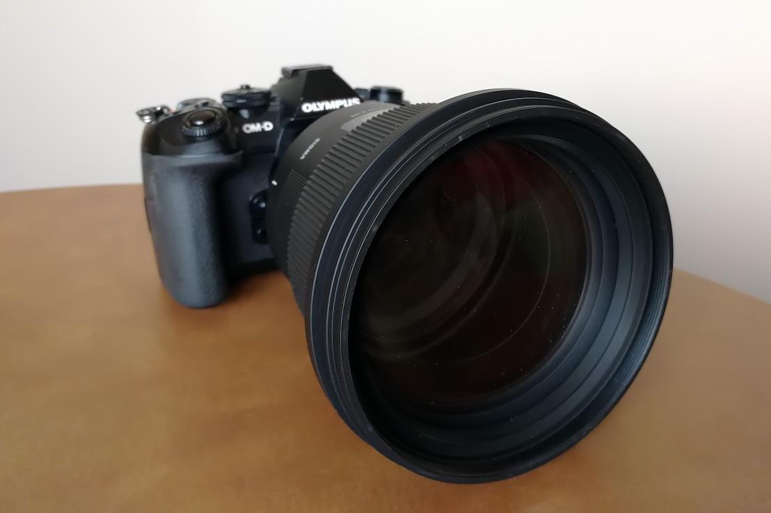 Sigma 105mm f/1.4 Artlens