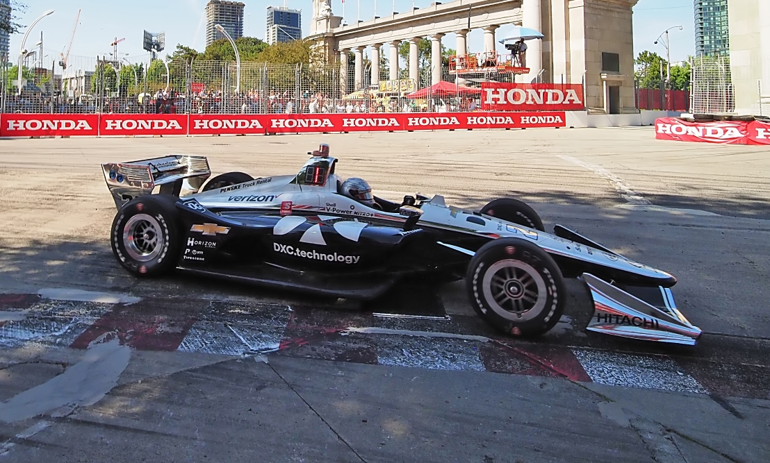 Pagenaud woud go on to win the race.