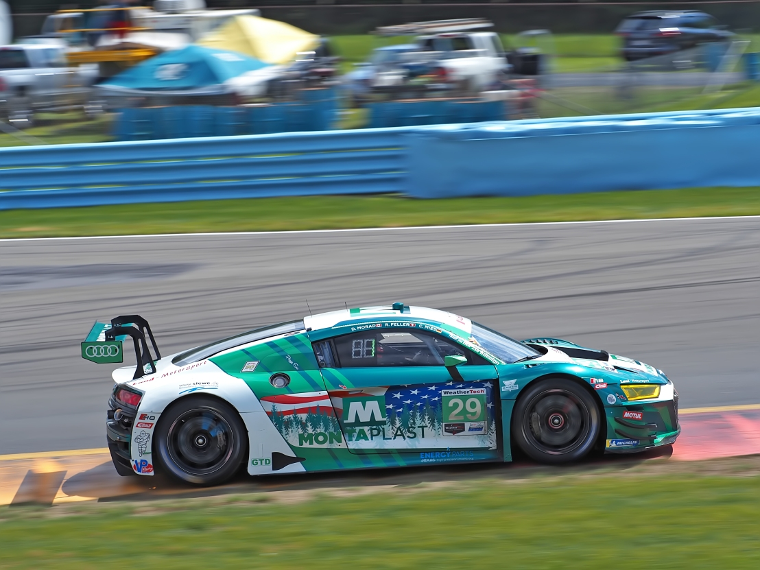 GT Daytona contender Team Montaplast by Land #29  Audi R8