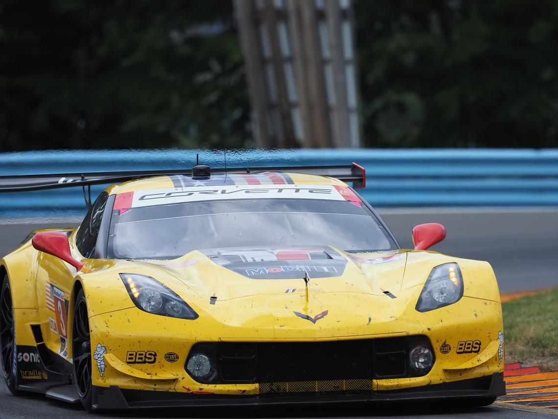 GT Le Mans contender Corvette Racing #3 Corvette C7 R