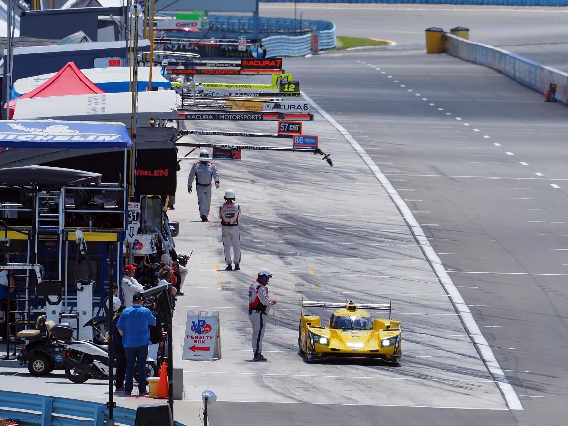DPI contender JDC Miller Motorsports #84 Cadillac DPI V-R