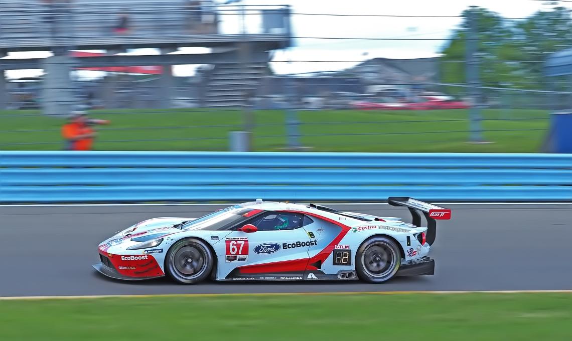 GT Le Mans contender Ford Chip Ganassi Racing #67 Ford GT