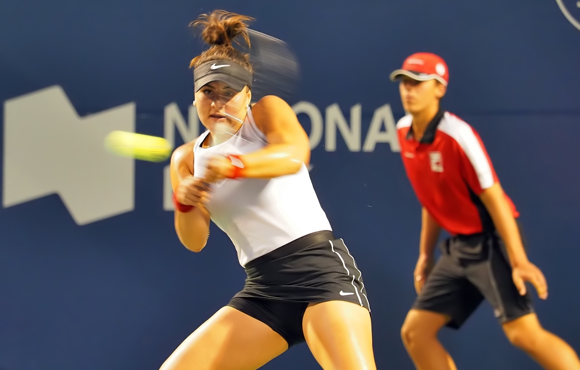 Round 1 Rogers Cup 2019 Eugenie Bouchard v Bianca Andreescu
