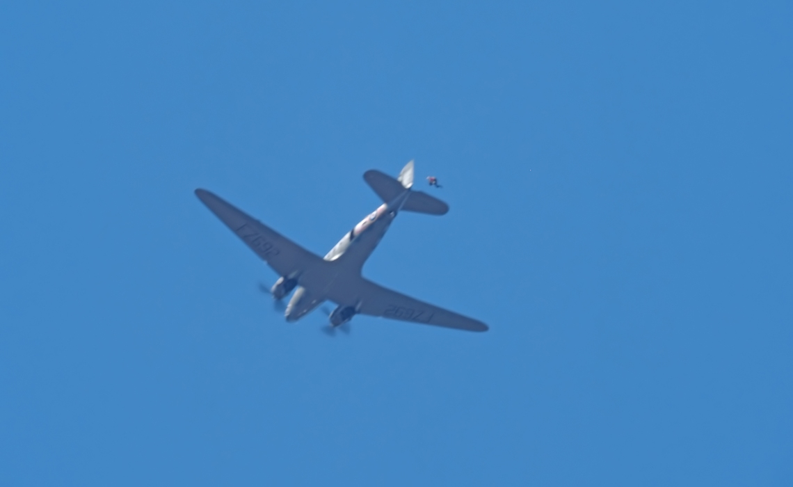 Hamilton Sport Parachute Club and the CWHM C-47