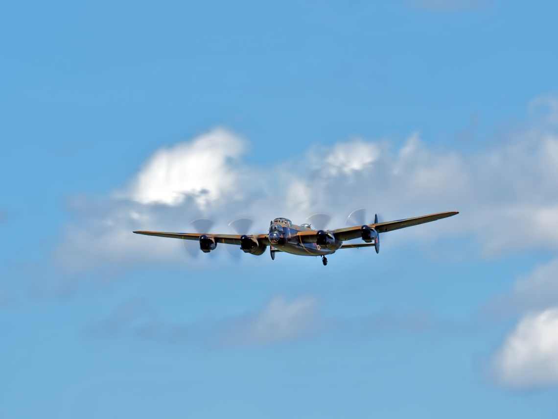 "Avro Lancaster Mk 10 (CHWM)   ""Last one home"""