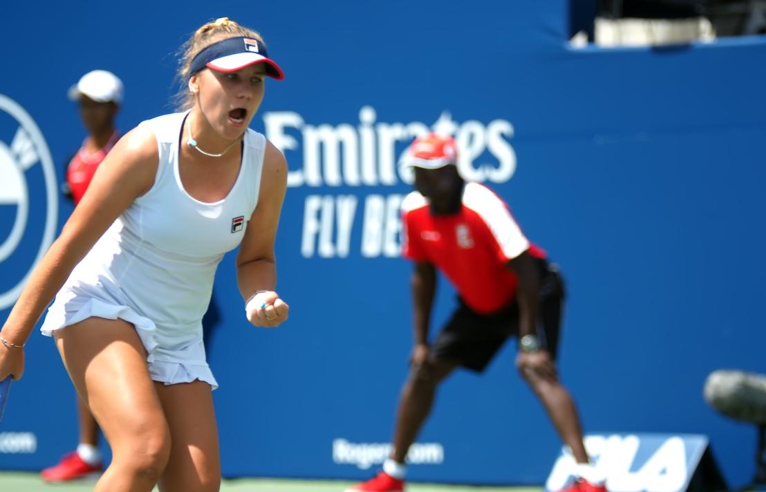 Rogers Cup Semifinal  Sofia Kenin v Bianca Andreescu