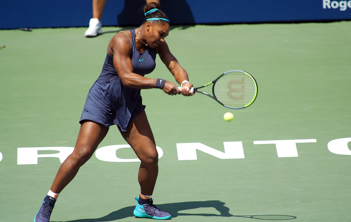 Rogers Cup Final Serena Williams v Bianca Adreescu