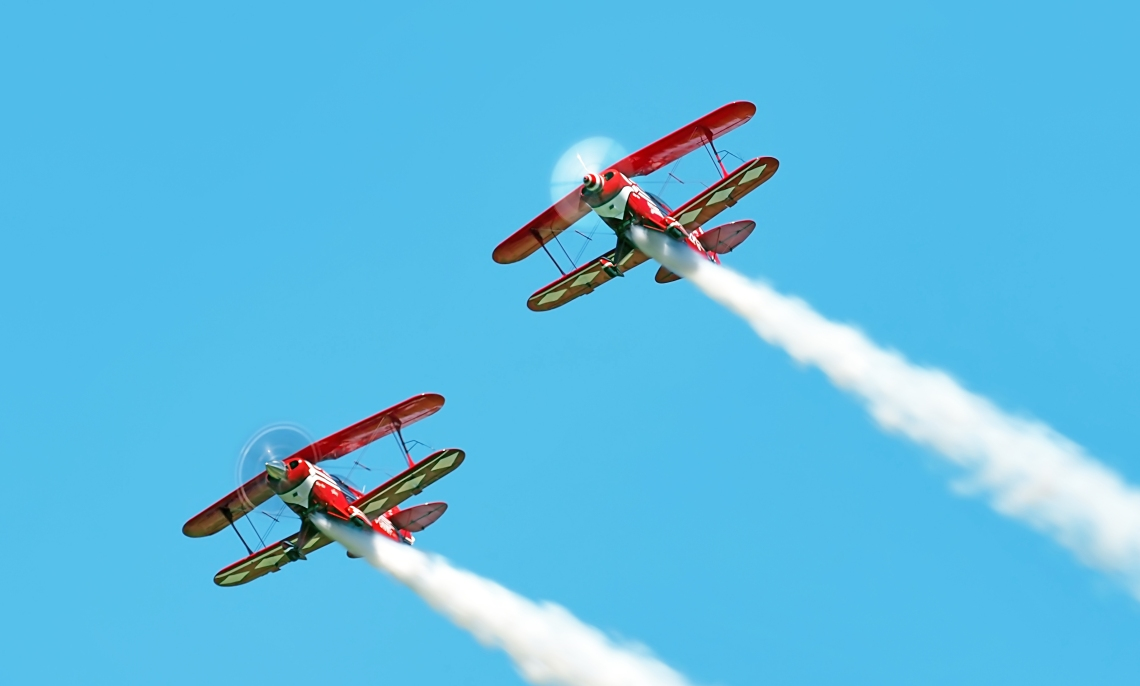 Brent Handy Aerobatics with Pitts Special