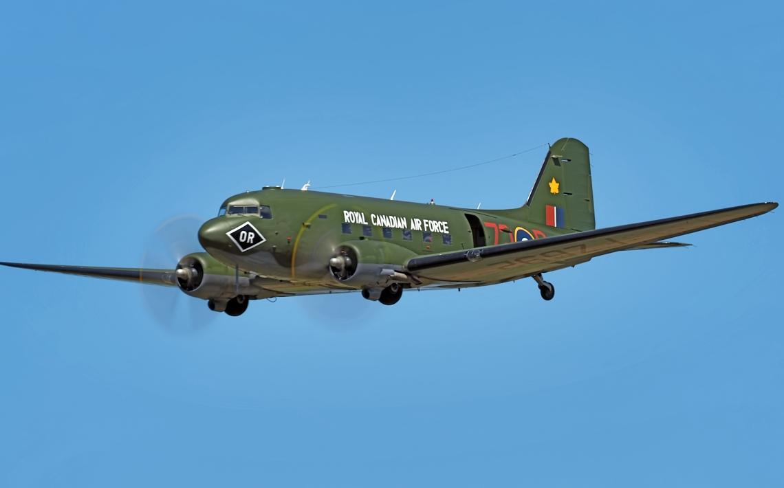 CWHM C-47 transport