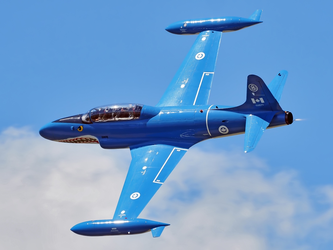 Superb closeup of Canadair T-33