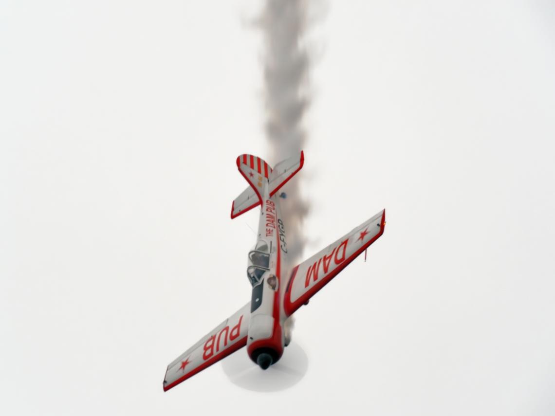 Gord Price and his Yakovlev Yak50 Prototype