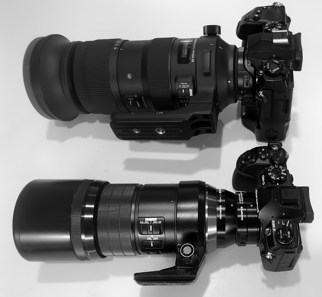 An alternative to the Zuiko 150-400mm f/4.5 telezoom.