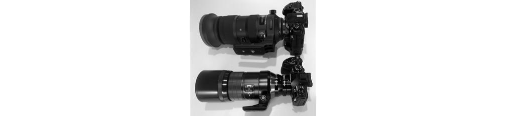 An alternative to the Zuiko 150-400mm f/4.5telezoom.