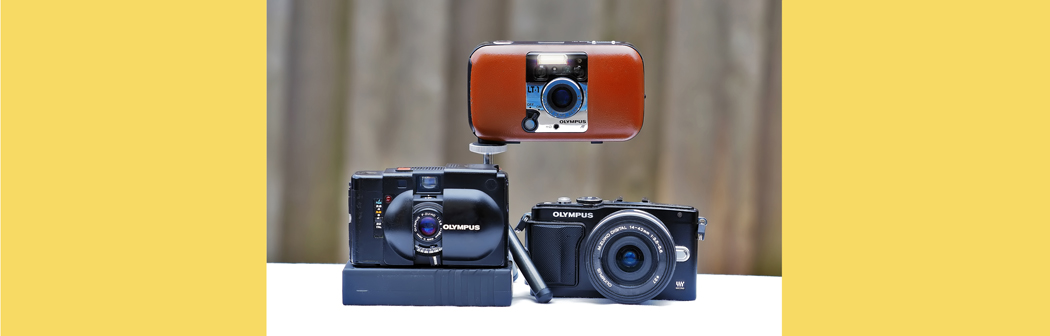 At Olympus, what's old should be new again – a retrospective look at the XA and LT1.